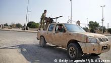 Syrien Tall Abyad Pro-Türkische syrische Kämpfer