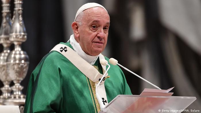 Папа Римський Франциск очікує від зустрічі в Парижі рішень задля миру на Донбасі