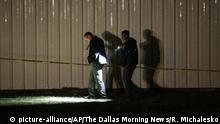 USA Texas Greenville Tote nach Schüssen bei Party