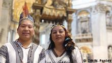Vatikanstadt | Yesica Patiachi Tayori und Siticonatzi Camaiteri