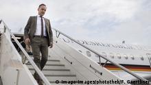 Tunesien Heiko Maas am Flughafen Tunis