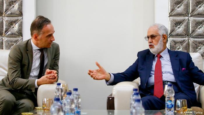 Libyen Heiko Maas und Taher Siala