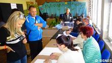 Kommunalwahl in Bulgarien, Sofia am 27.10.2019. Rechte: BGNES