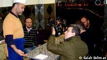 Abu Mosab mit dem Gruppe