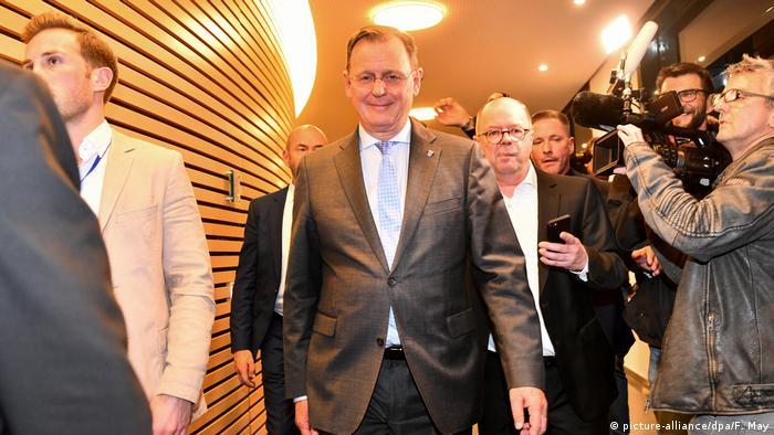 Deutschland Landtagswahl in Thüringen   Bodo Ramelow