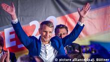 Deutschland Landtagswahl in Thüringen - Wahlparty AfD