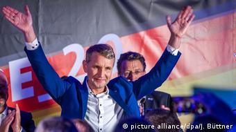 Лідер правих популістів у Тюрінгії Бйорн Геке