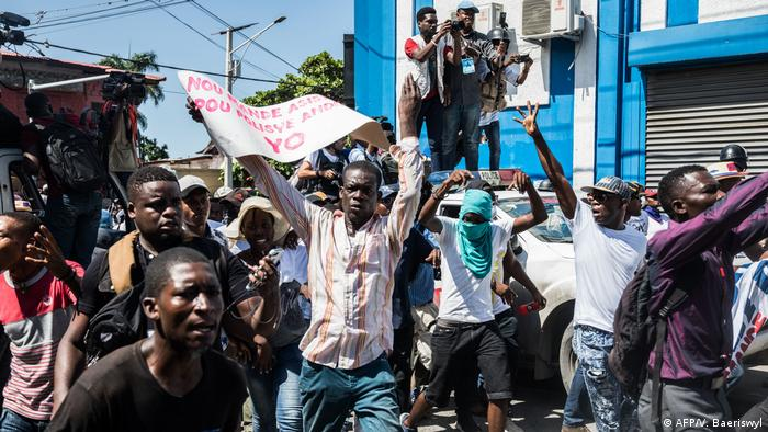 Haiti Proteste in Port-au-Prince