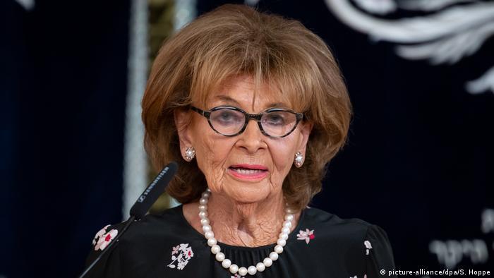 الرئيسة السابقة للمجلس المركزي ليهود ألمانيا، شارلوته كنوبلاوخ - صورة بتاريخ 16 سبتمبر/ أيلول 2019
