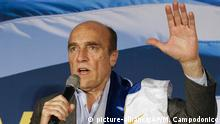 Uruguay Präsidentschaftskandidat Daniel Martínez