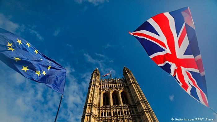 Großbritannien Brexit Symbolbild (Getty Images/AFP/T. Akmen)