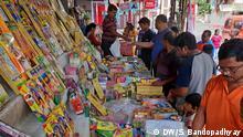 Indien Diwali Fest ohne Feuerwerk