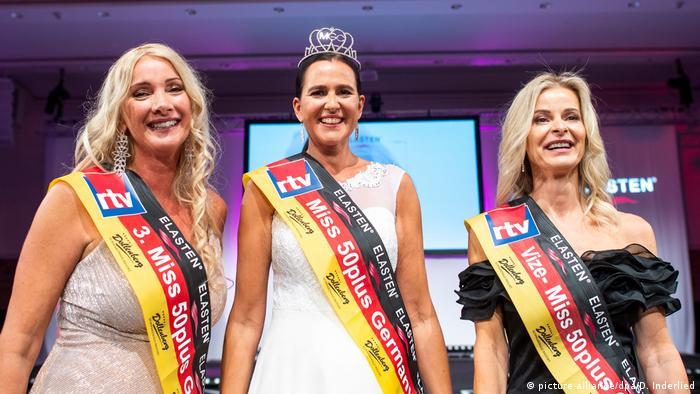 BdT Deutschland Finale Miss 50 plus (picture-alliance/dpa/D. Inderlied)