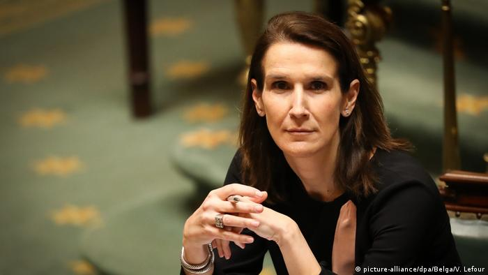 Belgien Brüssel Finanzministerin Sophie Wilmes (picture-alliance/dpa/Belga/V. Lefour)