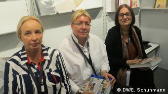 Алена Козлова, Елена Жемкова, Ирина Щербакова (слева направо)