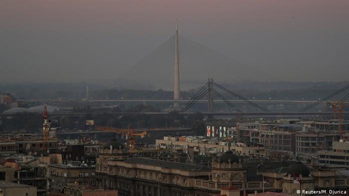 Serbien | Smog in Belgrad (Reuters/M. Djurica)