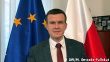 Copyright: M.Gwozdz-Pallokat Witold Bańka, Minister für Sport und Tourismus, Polen. Ab Januar 2020 Präsident der WADA. Foto entstanden am 25.10.2019.