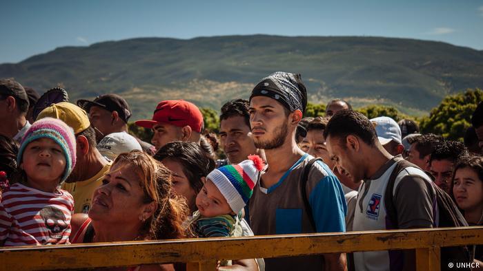 Migrantes venezolanos, la mayor crisis migratoria a la que tiene que hacer frente el subcontinente.