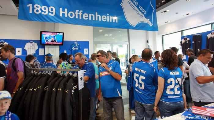 Bundesliga: Fans of Hoffenheim (Getty Images/Bongarts/C. Koepsel)