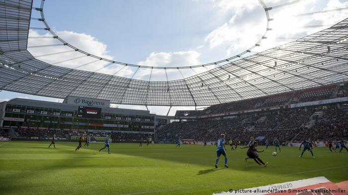 Fußball 1. Bundesliga/ Bayer 04 Leverkusen - Hamburger SV 1:0 (picture-alliance/Sven Simon/A. Waelischmiller)