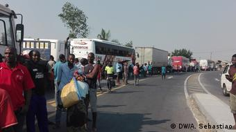 Mosambik Proteste in Manica