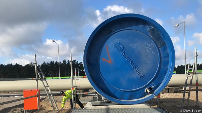 Строительство газопровода Северный поток - 2