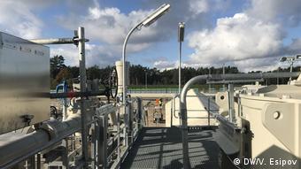 Береговые объекты газопровода Северный поток - 2 на севере Германии