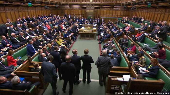 Großbritannien London Parlament Brexit (picture-alliance/empics/House of Commons)