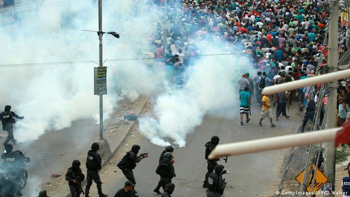 Nach der Wahl in Bolivien - Unruhen