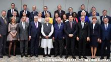 Indien Narendra Modi empfängt die Delegation des Europaparlament in Neu Delhi