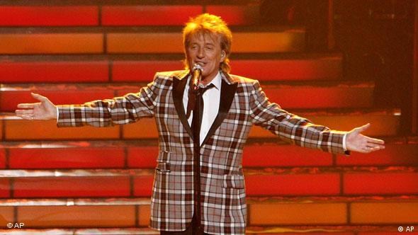 Rod Stewart beim Finale American Idol Flash-Galerie