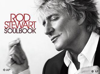 Imagen de portada del último CD de Rod Stewart, Soulbook (2009).