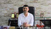 Türkei Mehmet Zirig Bürgermeister von Cizre, der heute suspendiert wurde