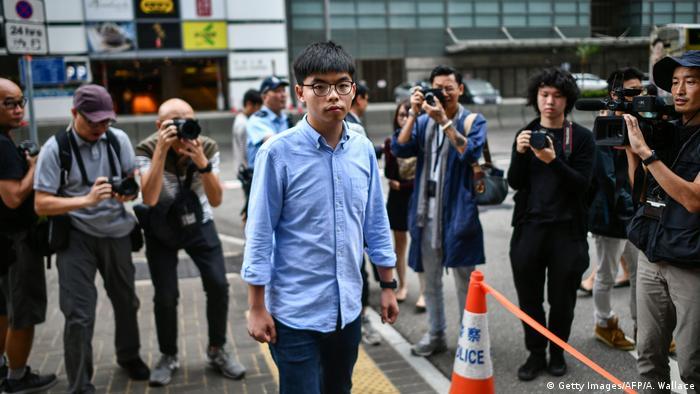 Hongkong Joshua Wong Kommunalwahl (Getty Images/AFP/A. Wallace)