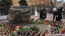 Russland Gedenken der stalinistischen Opfer in Moskau