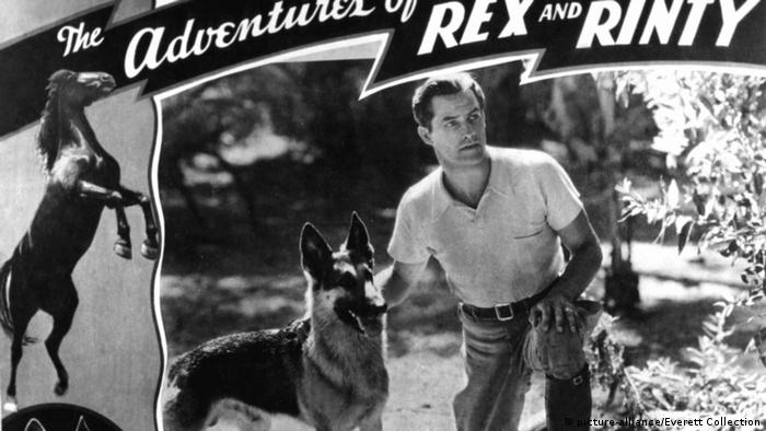 The Adventures of Rex and Rinty 1935 poster (picture-alliance/Everett Collection)