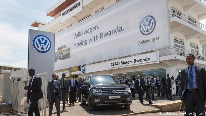 Vorzeigeobjekt: VW-Montagefabrik in Ruanda