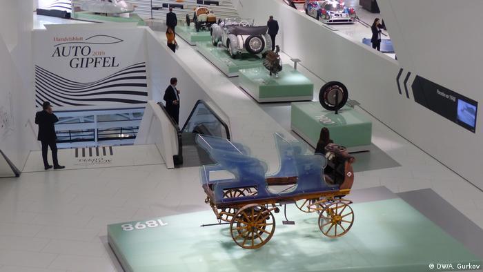 Вид музея Porsche