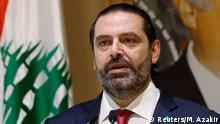 Libanon PK Premierminister Saad al-Hariri in Beirut