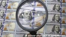 USA Symbolbild Geld drucken
