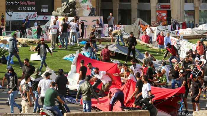 Libanon Anti-Regierungsproteste in Beirut