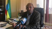 Daniel Bekele, Ethiopian Human Rights Comission Chief. Photo: Solomon Muchie / DW 29.10.2019 Addis Abeba, Ethiopia.
