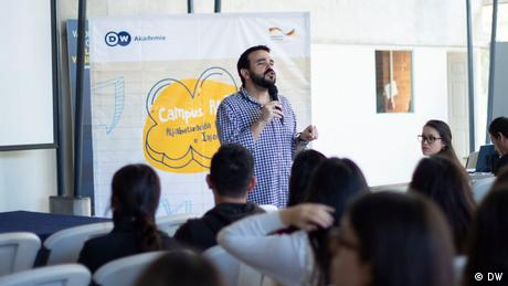 MIL Campus session in Guatemala, October 2019 (DW)