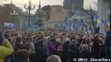 Ukraine Lehrerproteste in Kiew