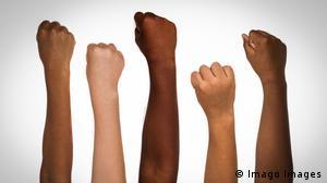 Hautfarbe Black History Month Awareness POC