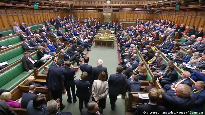 Câmara dos Comuns em Londres