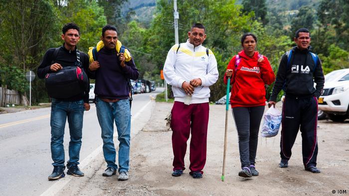 Migranten aus Venezuela (IOM)
