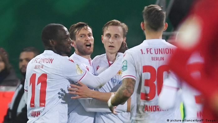 DFB Pokal Spiel SC Freiburg - 1. FC Union Berlin (picture-alliance/dpa/P. Seeger)