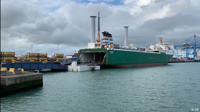 Rollfähre Zeebrugge Belgien (DW)