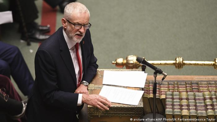England Unterhaus London Brexit Jeremy Corbyn (picture-alliance/AP Photo/UK Parliament/Jessica Taylor)